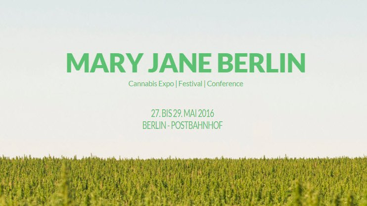 Mary Jane Berlin Cannabis Expo