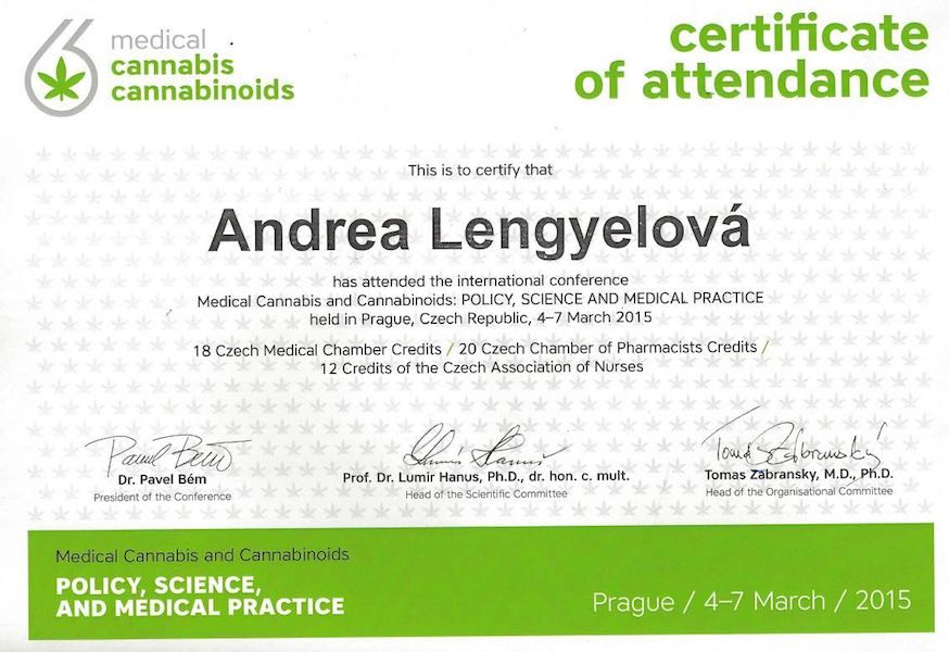 Certificazione Medical Cannabis